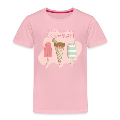 Icecream strawberry - Kids' Premium T-Shirt