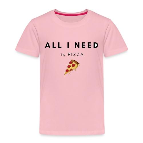 pizza - Camiseta premium niño