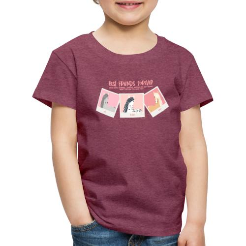 Best horse friends forever - Kids' Premium T-Shirt