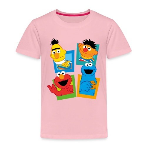Sesamstraße Schild Ernie und Bert - Kinder Premium T-Shirt