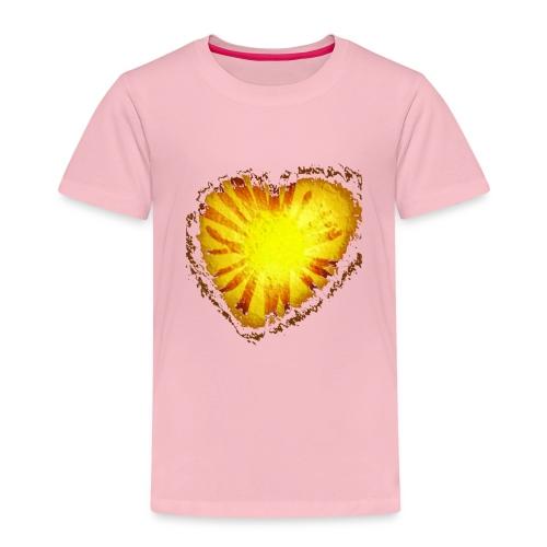 Cuore d'oro - Maglietta Premium per bambini