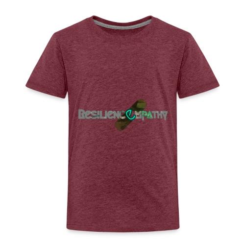 Resiliencempathy green - Maglietta Premium per bambini