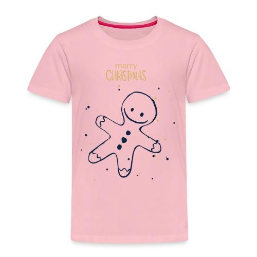 Weihnachten Plätzchenfigur - Kinder Premium T-Shirt