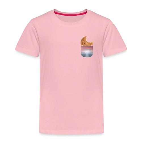 Der Cookie (Keks) in der Tasche-MERCH - Kinder Premium T-Shirt