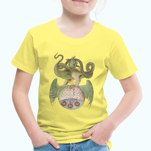 Middle Ages Dragon - Kids' Premium T-Shirt