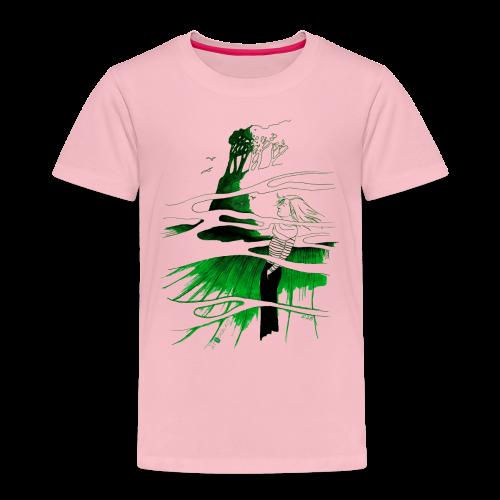 Ein Ort (grün) - Kinder Premium T-Shirt
