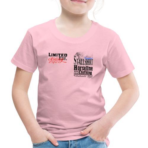 Limited Edition Stallshirt Pferde Reiten - Kinder Premium T-Shirt