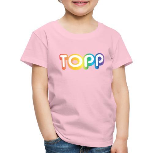 TOPP på TOPPÅSEN! - Premium T-skjorte for barn