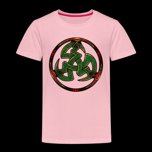Serpent Triskellion - Kids' Premium T-Shirt