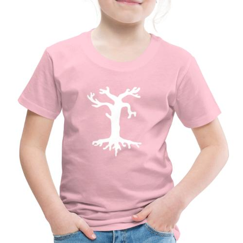 Valkoinen kelopuu - Lasten premium t-paita