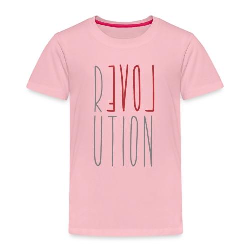 Love Peace Revolution - Liebe Frieden Statement - Kinder Premium T-Shirt