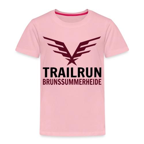 Vectorlogo Trailrun Bruns - Kinderen Premium T-shirt