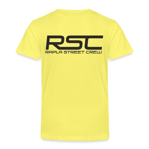 Rapla Street Crew Logo - Kids' Premium T-Shirt