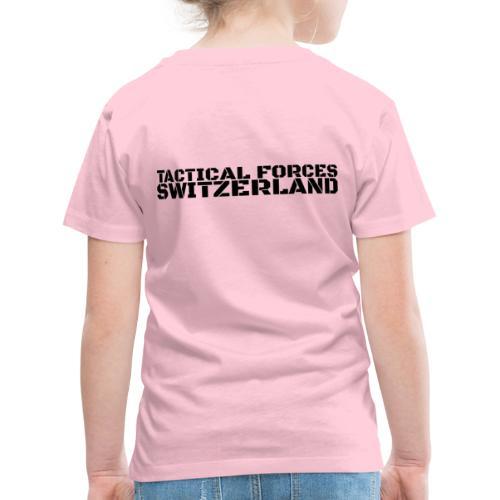 TFS style pochoir noir sur le dos - T-shirt Premium Enfant