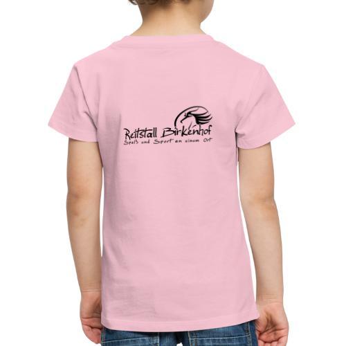 Schriftzug mit Logo - Kinder Premium T-Shirt