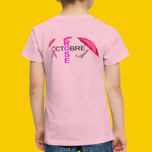 OCTOBRE ROSE 2018 - T-shirt Premium Enfant