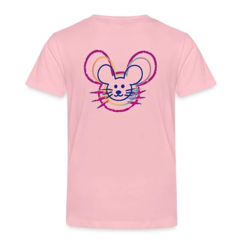kleines Mausgesicht/Mäuse - Kinder Premium T-Shirt