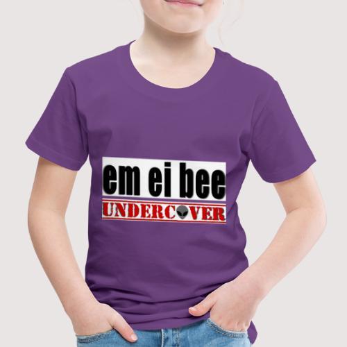 Echte Alien-Jäger gehen nur undercover vor die Tür - Kinder Premium T-Shirt