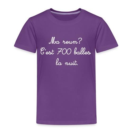 700 balles - T-shirt Premium Enfant