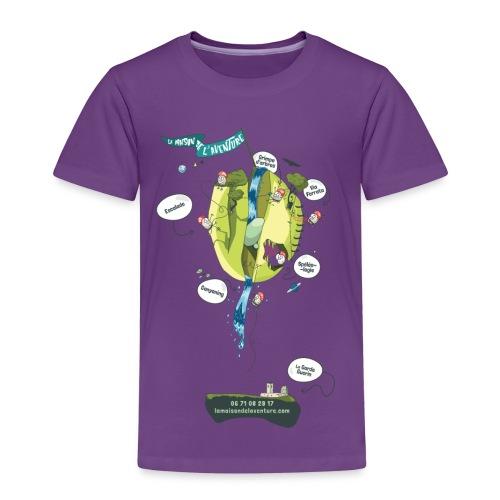 T-shirt Maison de L'aventure - T-shirt Premium Enfant