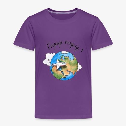 Num. 6 -  Voyage Voyage !  - T-shirt Premium Enfant
