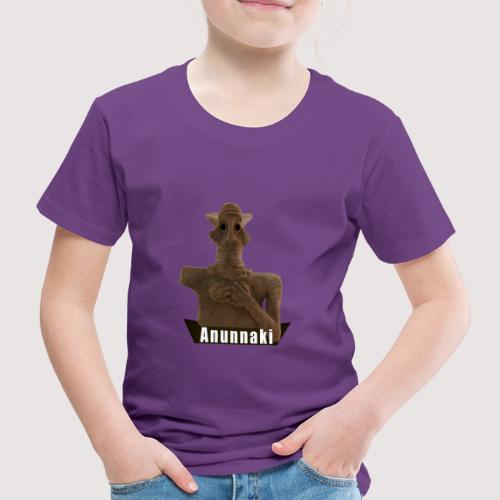 Ancient Aliens + Astronautengötter + Anunnaki - Kinder Premium T-Shirt