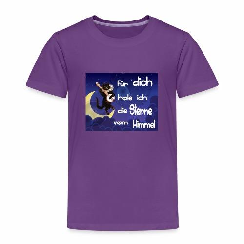 Katze - Für dich hole ich die Sterne vom Himmel - Kinder Premium T-Shirt