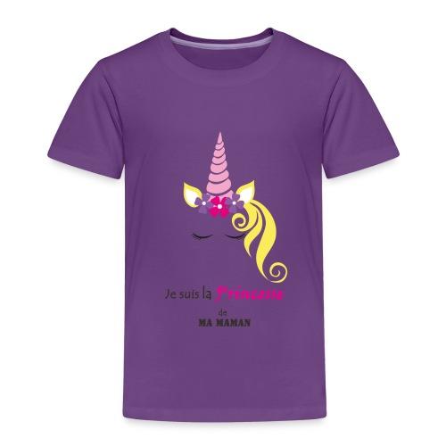 princesse de maman2 - T-shirt Premium Enfant