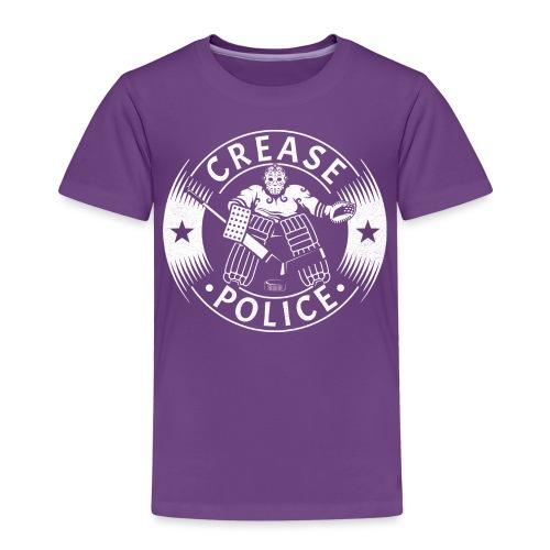 Crease Police Hockey Goalie - Kids' Premium T-Shirt