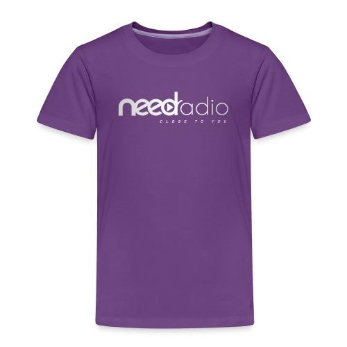 Logo BLANC NEED Radio - T-shirt Premium Enfant
