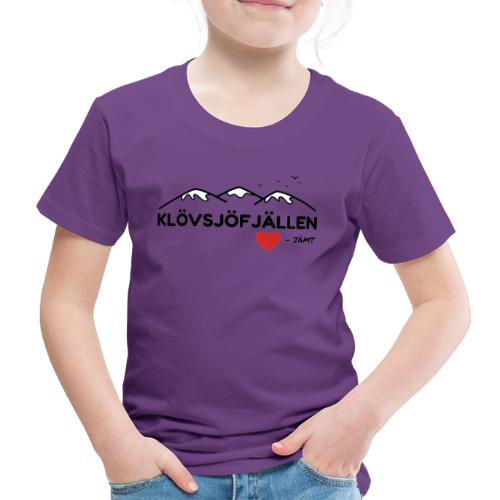 Klövsjöfjällen - Premium-T-shirt barn