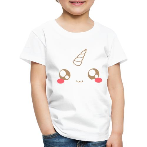 Kawaii_T-unicorn_EnChanta - Kids' Premium T-Shirt