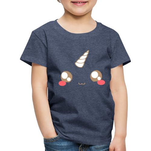 Kawaii_T-unicorn_EnChanta - Kids' Premium T-Shirt