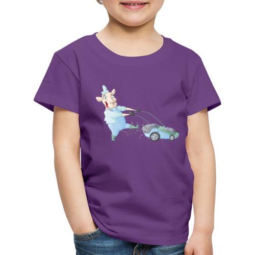 Der Rasen-MÄHER - Kinder Premium T-Shirt