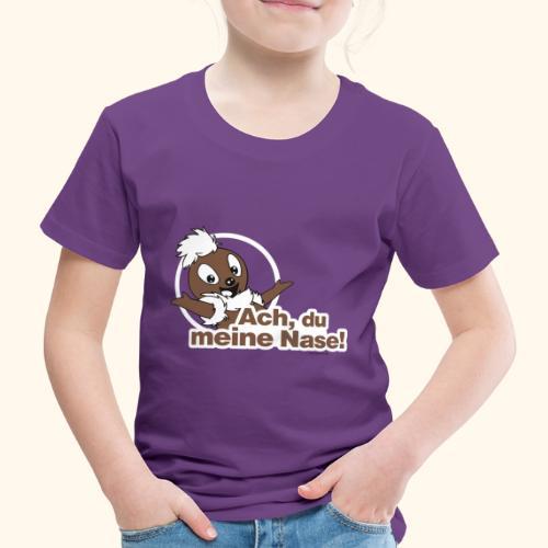 Pittiplatsch 2D Ach, du meine Nase - Kinder Premium T-Shirt