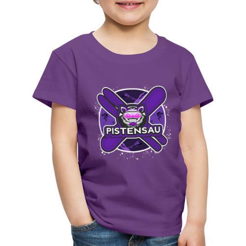 PistenSau Dunkle Orchidee - Kinder Premium T-Shirt