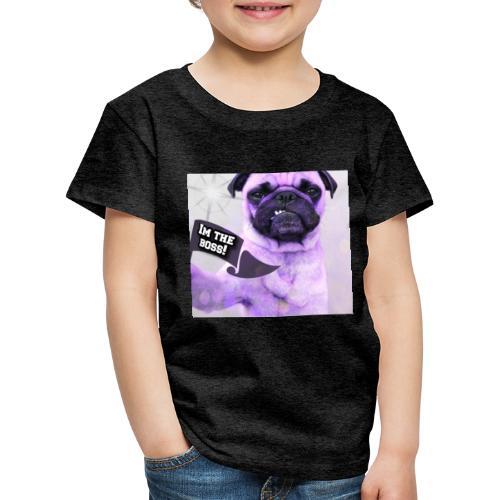 I'm the boss - Børne premium T-shirt