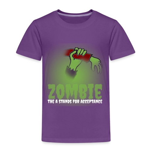 Zombie The A stands for - Kids' Premium T-Shirt