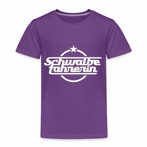 Schwalbefahrerin - Kids' Premium T-Shirt