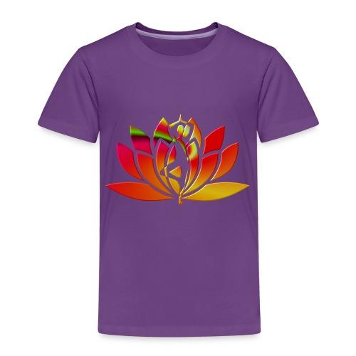 Motif lotus yoga - T-shirt Premium Enfant