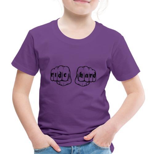Ride Hard fist - Camiseta premium niño