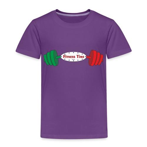 Fitness Time 17° anno - Maglietta Premium per bambini
