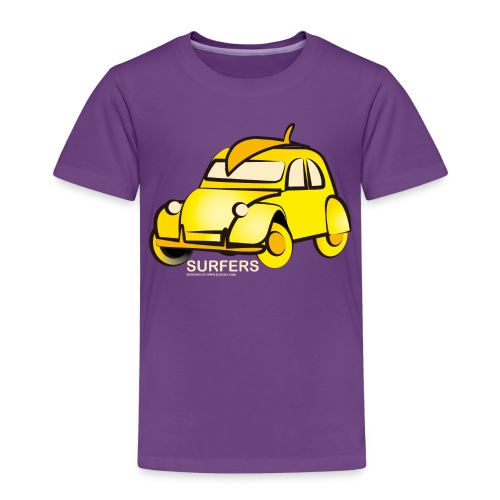 surferyellowcar0101 - Camiseta premium niño
