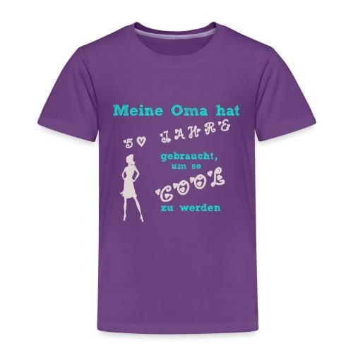 MeineOma50Mädchen png - Kinder Premium T-Shirt