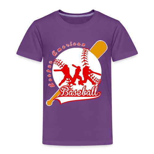 baseball league american - T-shirt Premium Enfant