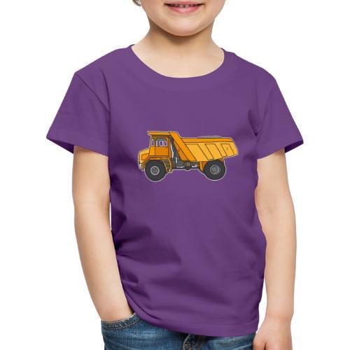 Kipplaster, Muldenkipper - Kinder Premium T-Shirt