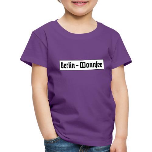 Berlin Wannsee Fraktur - Kinder Premium T-Shirt