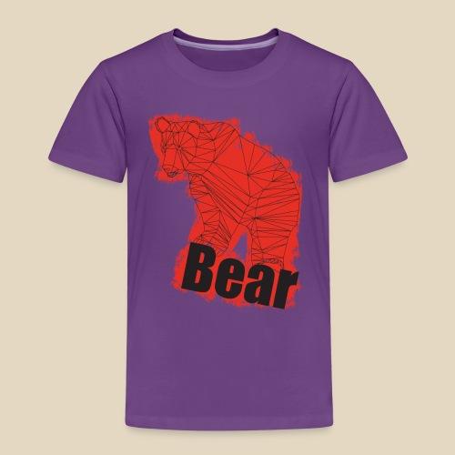 Red Bear - T-shirt Premium Enfant