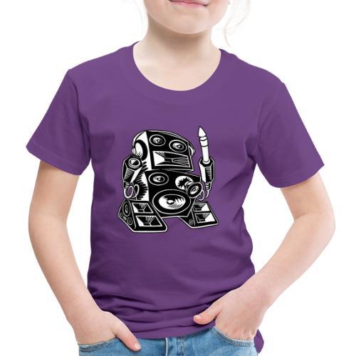 Techno-Bot 2 - Kinder Premium T-Shirt