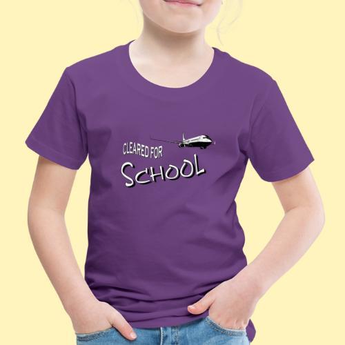 Cleared 4 School - Kinder Premium T-Shirt